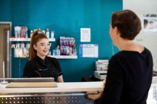 Contact our friendly staff to book your next check up and clean appointment